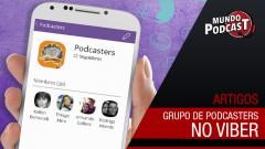Grupo aberto de Podcasters no Viber