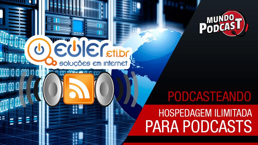 Hospedagem para podcasts com tráfego ilimitado